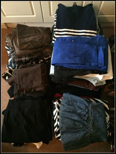KonMari -- Clothes. Decluttering.