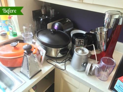 KonMari. Kitchen. Small appliances. Slow cooker. Smoothie maker.