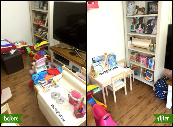 Completing the KonMari Method -- toys before and after