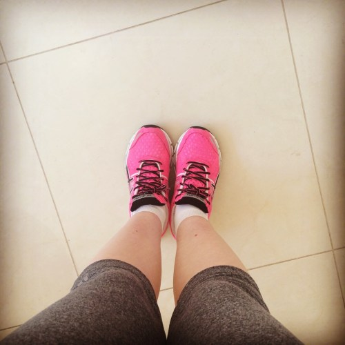Exercise challenge. Trainers.