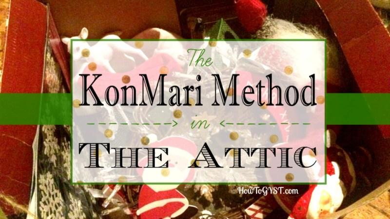 KonMari Method Attic