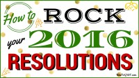 Keep New Year's resolutions -- how to rock your resolutions