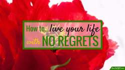 """To live a life with no regrets is, I think, our biggest dream for ourselves. Recently, I read a book that's teaching me to do just that: Don Miguel Ruiz's """"The Four Agreements""""."""