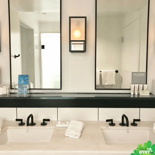 Is your home more 'zoo' than 'zen'? Turn your home into a haven with these 10 simple steps   21c Museum Hotel bathroom in deluxe suite   Cincinnati, Ohio