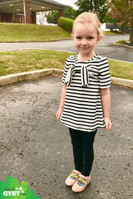 Scout's First Day of Pre-K – September 2017