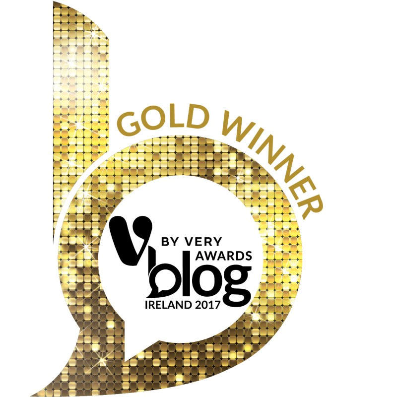 Irish Blog Awards 2017 Gold Winner, Best Vlog | A Thousand Thank Yous | October 2017