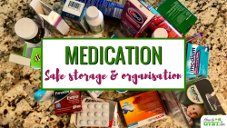 Clearing Out Your Medicine Cabinet - How to declutter, organise, and safely store your medication, including some top tips as well as some things to avoid