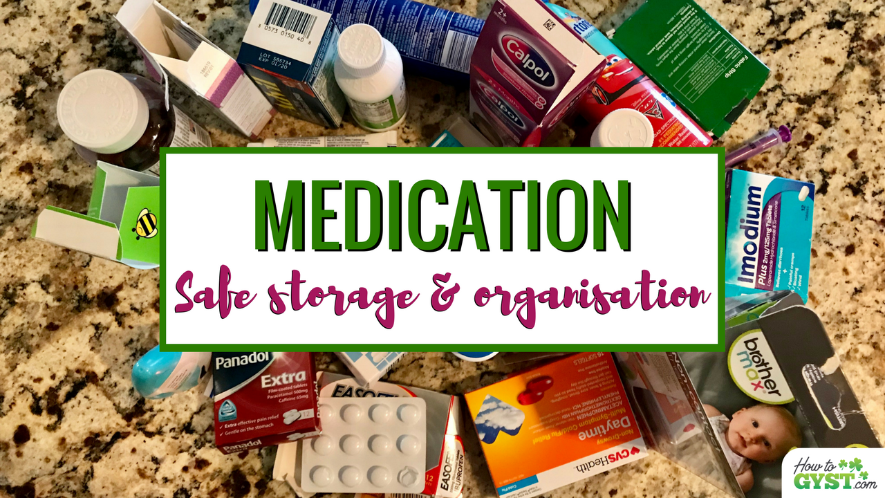 Clearing Out Your Medicine Cabinet   How To Declutter, Organise, And Safely  Store Your