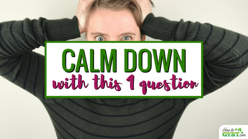 Learn to manage your anger so it doesn't damage your relationships with loved ones: 1 simple question