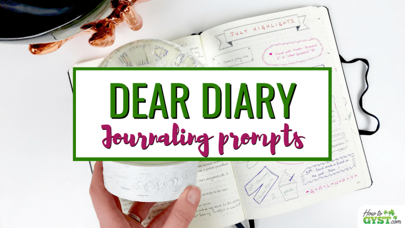 Journaling Prompts (for when you don't know what to write)