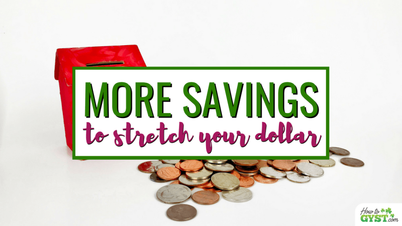 11 MORE Ways To Save Money