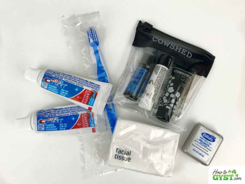 Ways to reduce waste – refuse samples and travel sizes