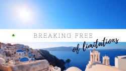How to get out of your comfort zone & break free of limitations