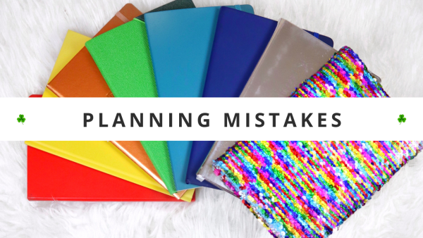 Avoid These MAJOR Planning Mistakes • Setting Up A New Planner & Productivity System