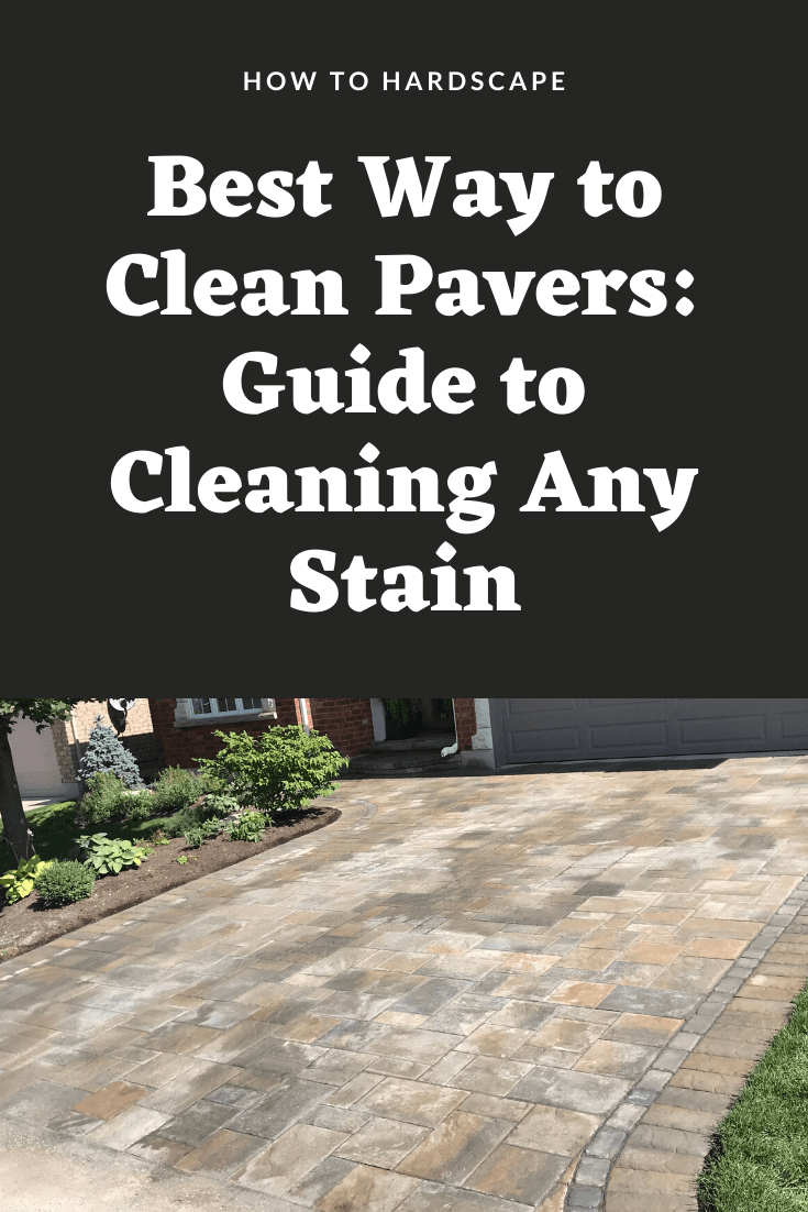 how to clean pavers guide to cleaning