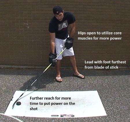 how to take a powerful wrist shot