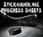 Stickhandling Progress Tracking Sheet
