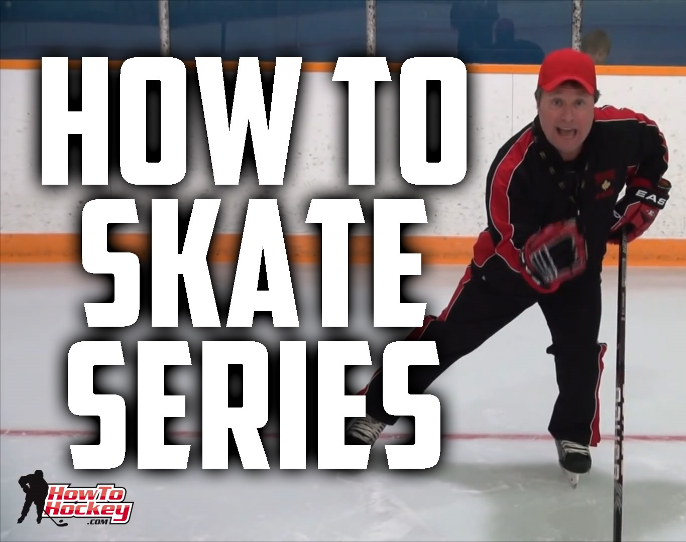 Learn how to ice skate at home