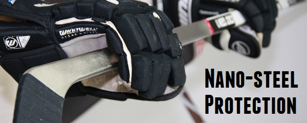 nano steel hockey stick colt