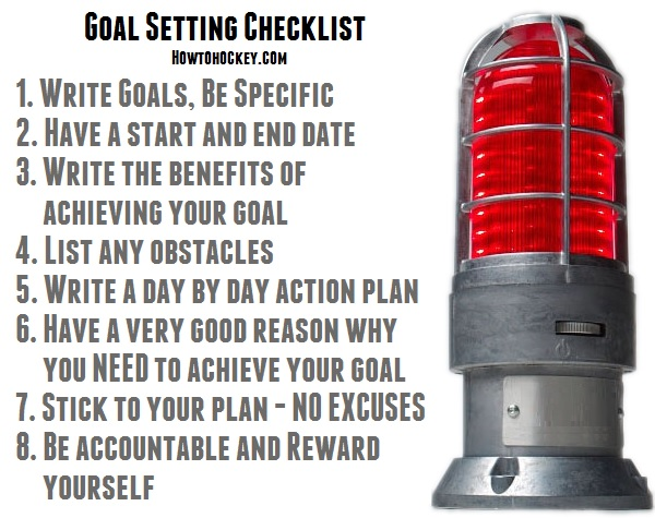 hockey goal setting