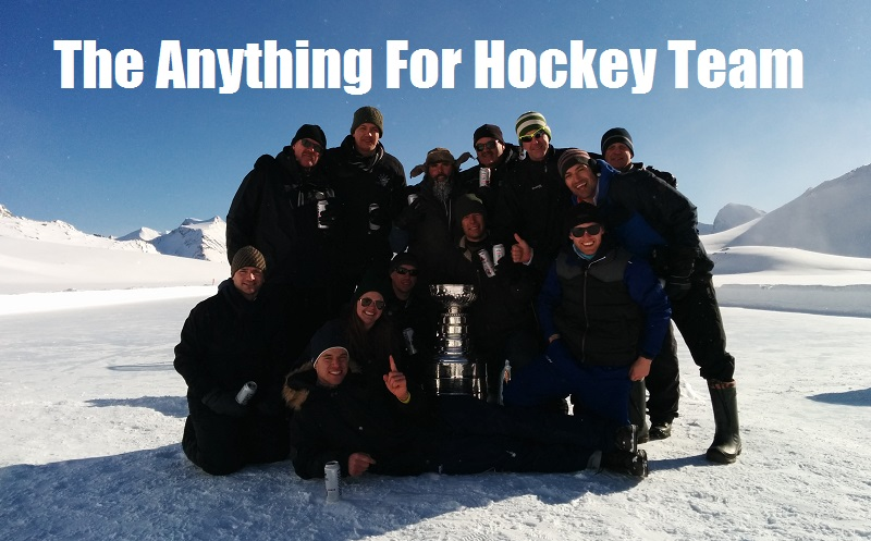 The Anything For Hockey Team