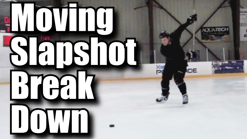 Breaking down the moving slapshot