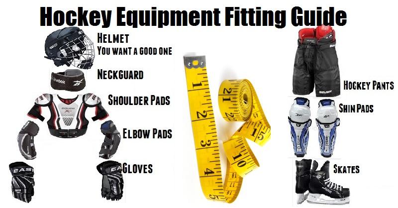 Adult hockey gear