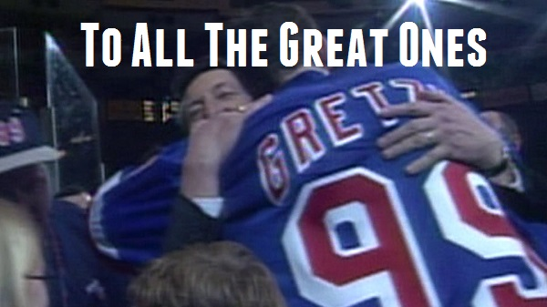 Wayne Gretzky Thanks his Dad Walter – To all the Hockey Dads