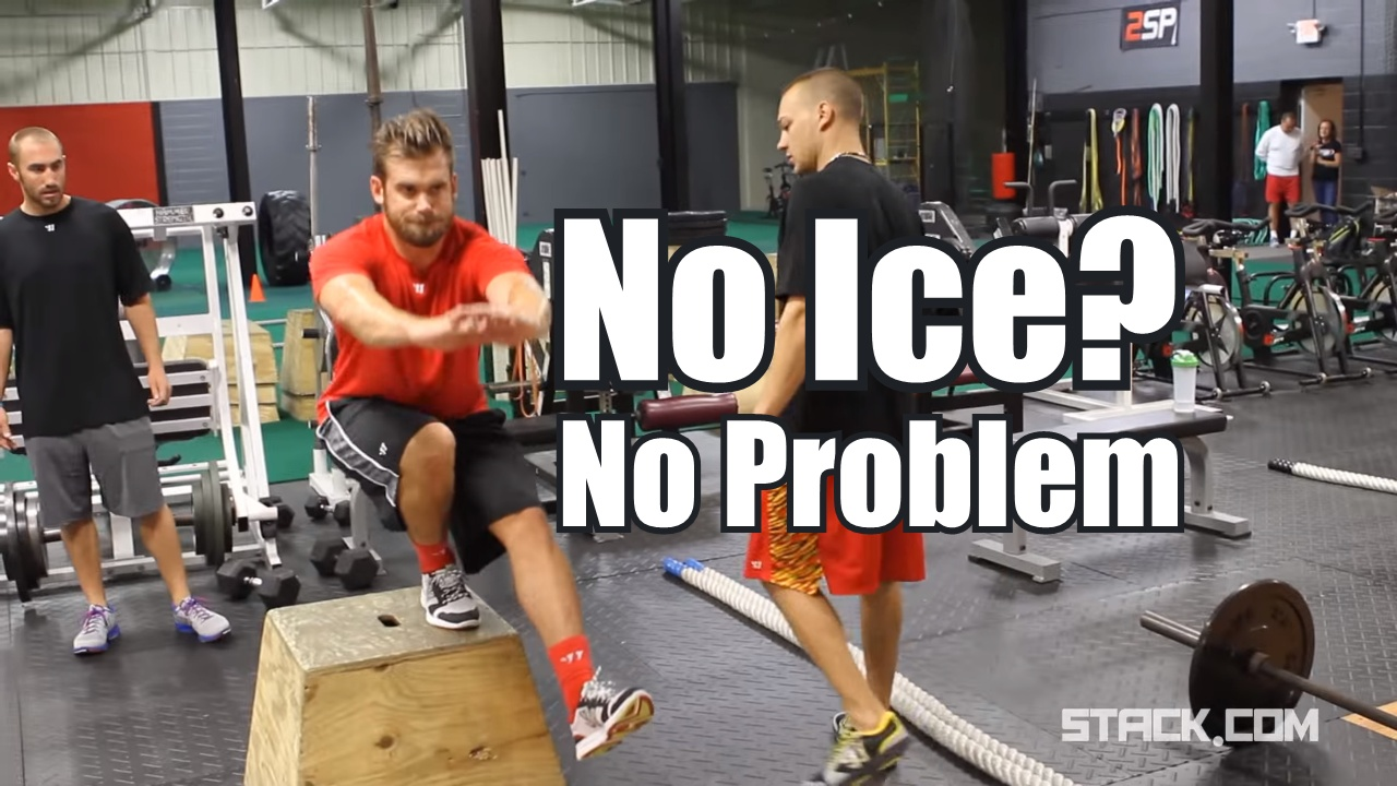 5 exercises to improve skating without ice