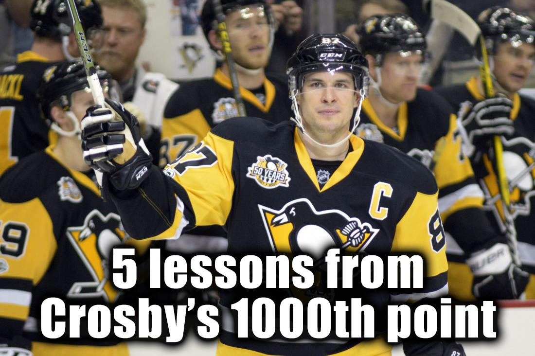 5 Things to Learn from Crosby's 1000th Point