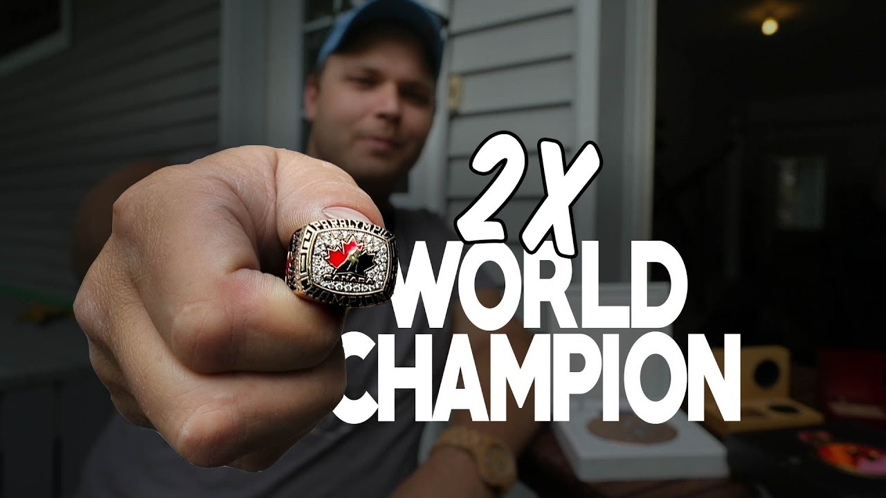 Two World Championships, ZERO Excuses