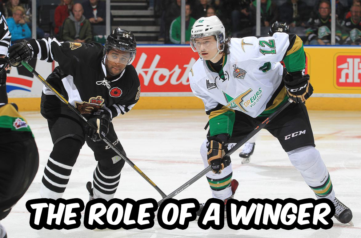 The Role of a Winger in Hockey