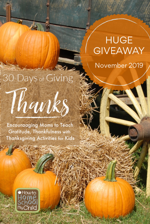 30 days of giving thanks blog series