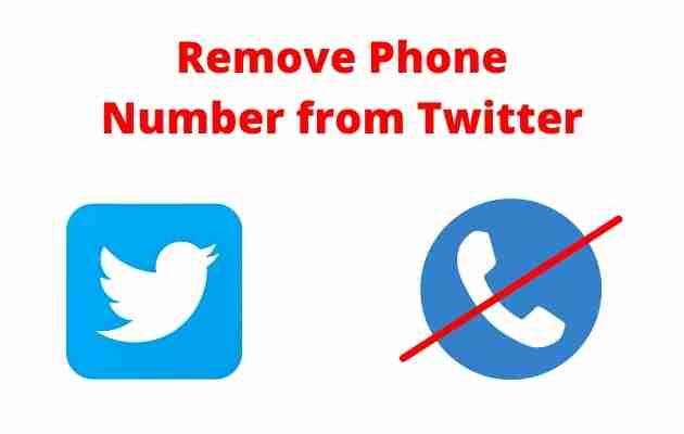 Remove Phone Number from Twitter