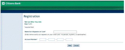 Citizen Bank Card Login | Sign In My Citizens Bank Card Account