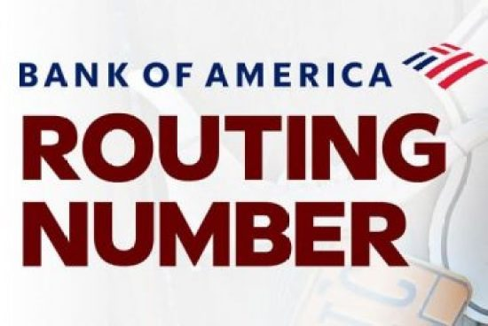 Bank of America Routing Number - List of Bank of America Routing Number