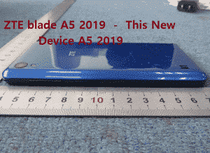 New ZTE blade A5 2019 Characteristics, Features With Price