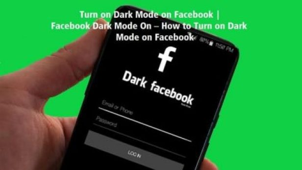 Steps by Steps on How to Turn on Dark Mode on Facebook