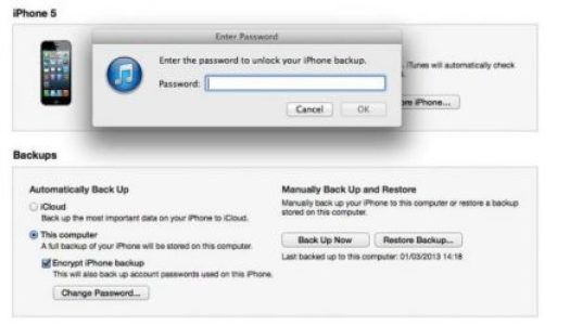 New iPhone Sync - Transfer Data From Old Phone to New iPhone