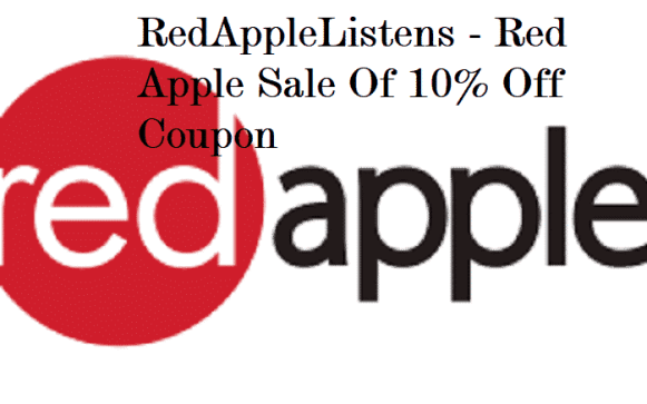 RedAppleListens - Red Apple Sale Of 10% Off Coupon