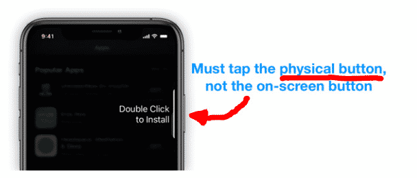 How to turn off double click to install apps on your iPhone or iPad