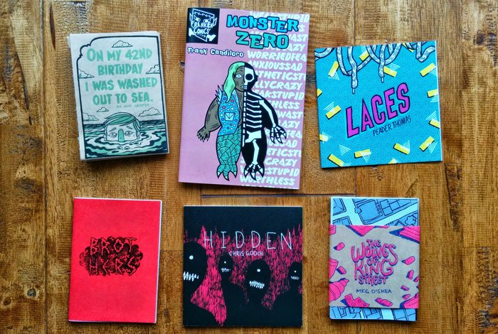 A collection of zines.