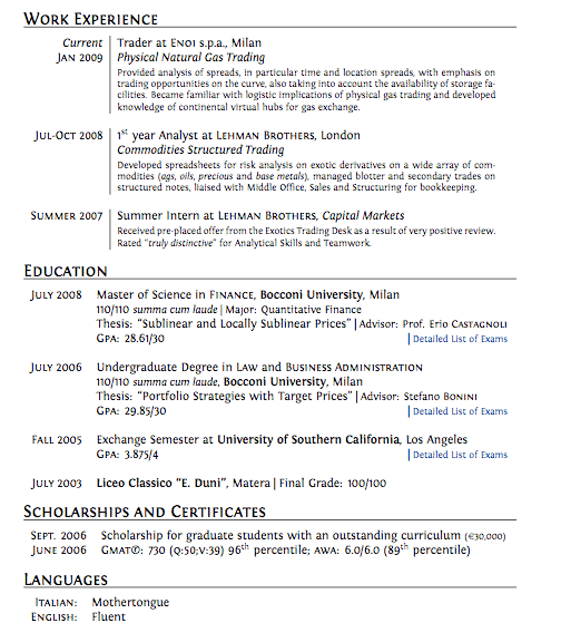 Great Resume Example. Great Sales Resume Cover Letter Great Resume