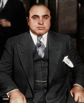 Al-Capone-in-grey-Three-Piece-Suit