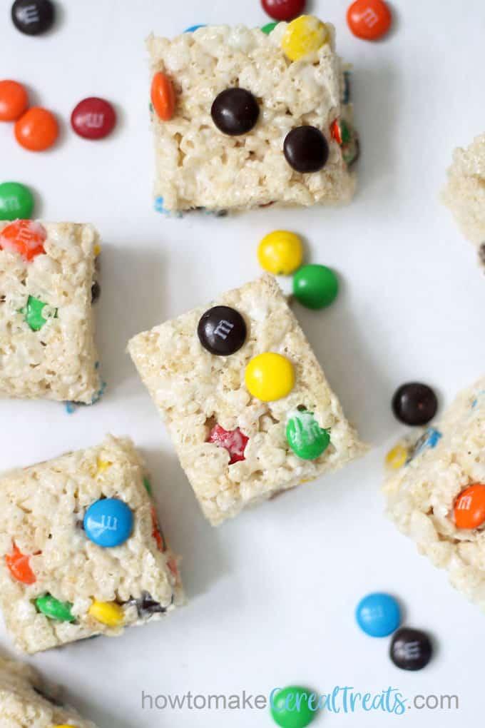m m rice krispie treats recipe an