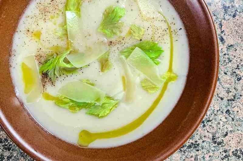 5-ish Ingredient Celery Root Soup