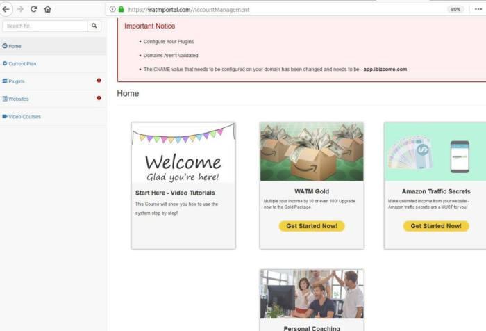 website atm members area