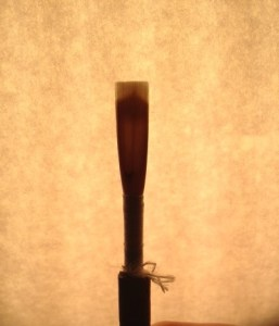 Oboe reed photo 5