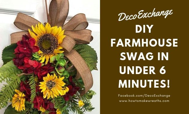 DIY Farmhouse Decor: Designer Swag in Under 6 Minutes