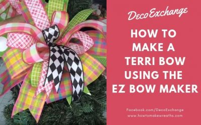 How to Make a Terri Bow Using the EZ Bow Maker